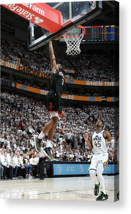 Playoffs Acrylic Print featuring the photograph Chris Paul by Melissa Majchrzak