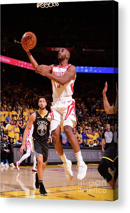 Playoffs Acrylic Print featuring the photograph Chris Paul by Noah Graham