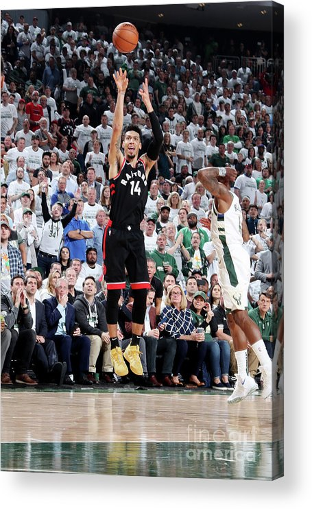 Playoffs Acrylic Print featuring the photograph Danny Green by Nathaniel S. Butler