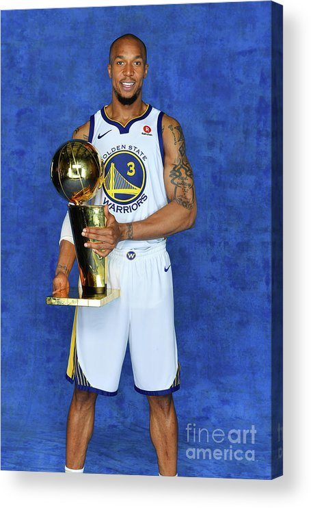 Playoffs Acrylic Print featuring the photograph David West by Jesse D. Garrabrant