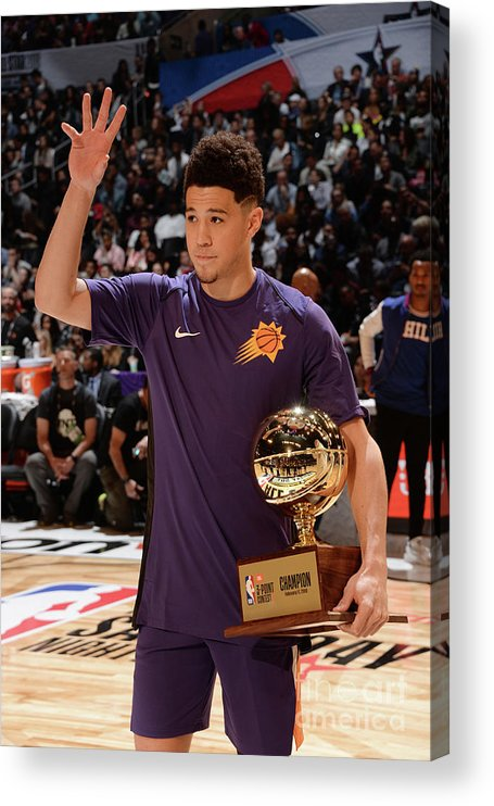 Event Acrylic Print featuring the photograph Devin Booker by Andrew D. Bernstein
