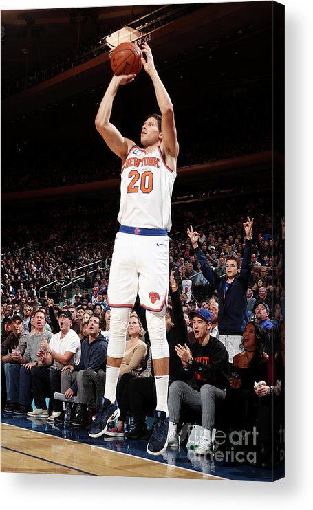 Nba Pro Basketball Acrylic Print featuring the photograph Doug Mcdermott by Nathaniel S. Butler
