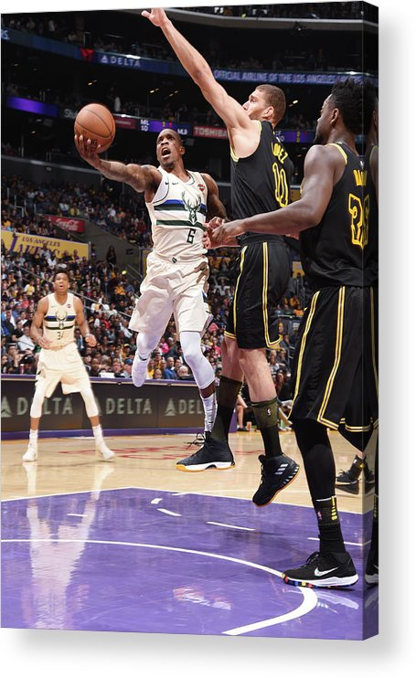 Nba Pro Basketball Acrylic Print featuring the photograph Eric Bledsoe by Andrew D. Bernstein
