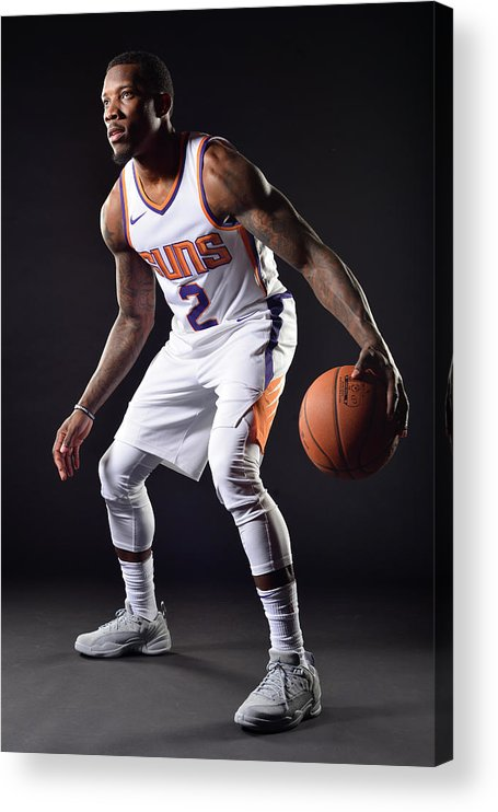 Nba Pro Basketball Acrylic Print featuring the photograph Eric Bledsoe by Barry Gossage