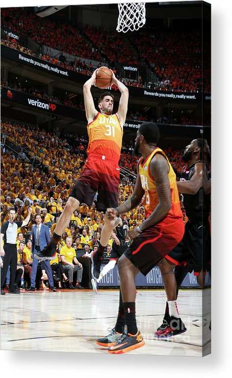 Playoffs Acrylic Print featuring the photograph Georges Niang by Melissa Majchrzak