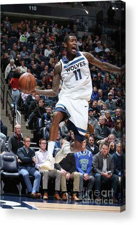 Sports Ball Acrylic Print featuring the photograph Jamal Crawford by David Sherman