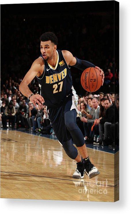Nba Pro Basketball Acrylic Print featuring the photograph Jamal Murray by Nathaniel S. Butler