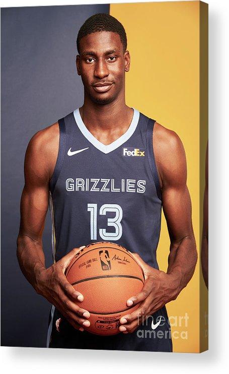 Nba Pro Basketball Acrylic Print featuring the photograph Jaren Jackson by Jennifer Pottheiser