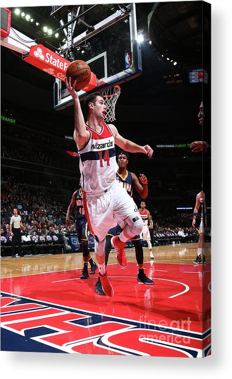 Nba Pro Basketball Acrylic Print featuring the photograph Jason Smith by Ned Dishman