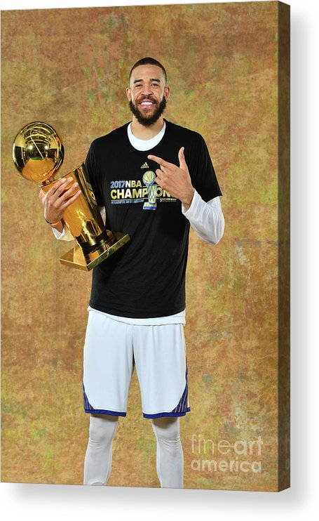 Playoffs Acrylic Print featuring the photograph Javale Mcgee by Jesse D. Garrabrant