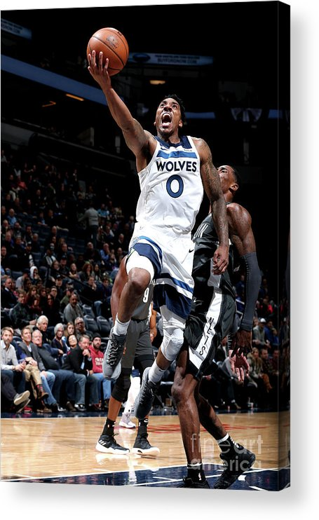 Nba Pro Basketball Acrylic Print featuring the photograph Jeff Teague by David Sherman