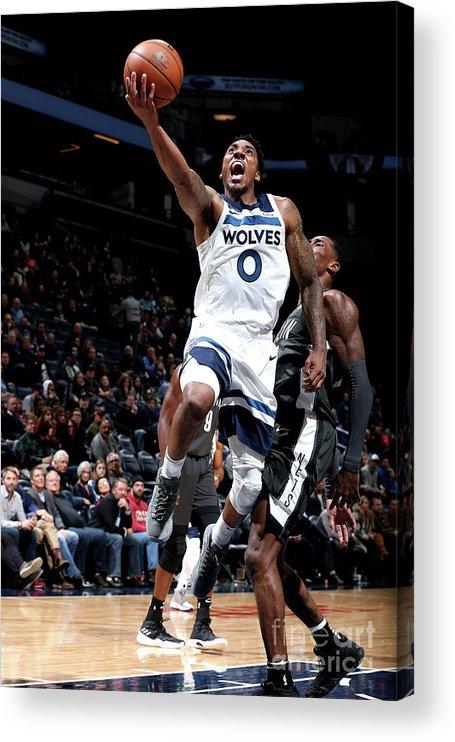 Nba Pro Basketball Acrylic Print featuring the photograph Jeff Teague by David Sherman