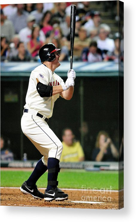 People Acrylic Print featuring the photograph Jim Thome by Jason Miller