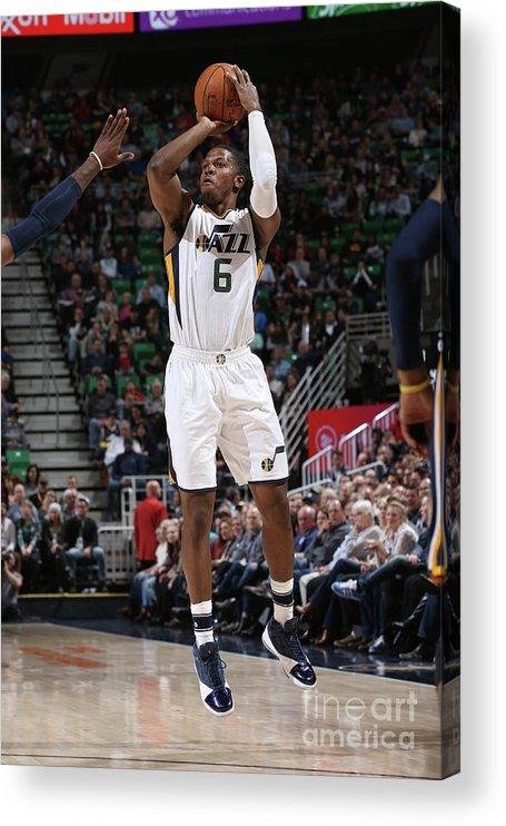 Nba Pro Basketball Acrylic Print featuring the photograph Joe Johnson by Melissa Majchrzak