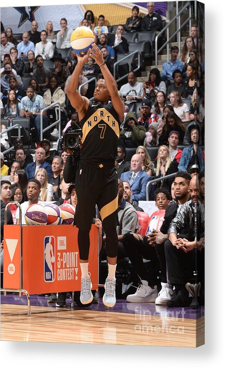 Event Acrylic Print featuring the photograph Kyle Lowry by Andrew D. Bernstein