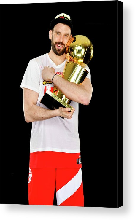 Playoffs Acrylic Print featuring the photograph Marc Gasol by Jesse D. Garrabrant