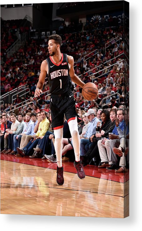 Nba Pro Basketball Acrylic Print featuring the photograph Michael Carter-williams by Bill Baptist