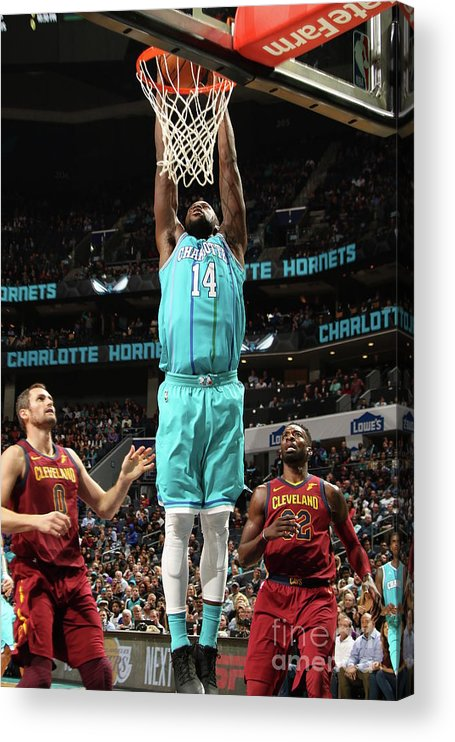 Nba Pro Basketball Acrylic Print featuring the photograph Michael Kidd-gilchrist by Brock Williams-smith