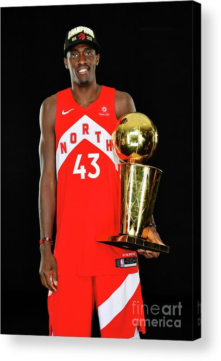 Playoffs Acrylic Print featuring the photograph Pascal Siakam by Jesse D. Garrabrant
