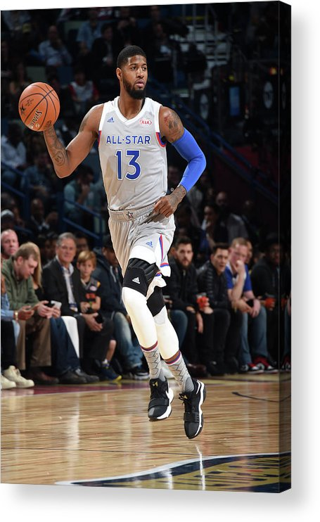Event Acrylic Print featuring the photograph Paul George by Andrew D. Bernstein