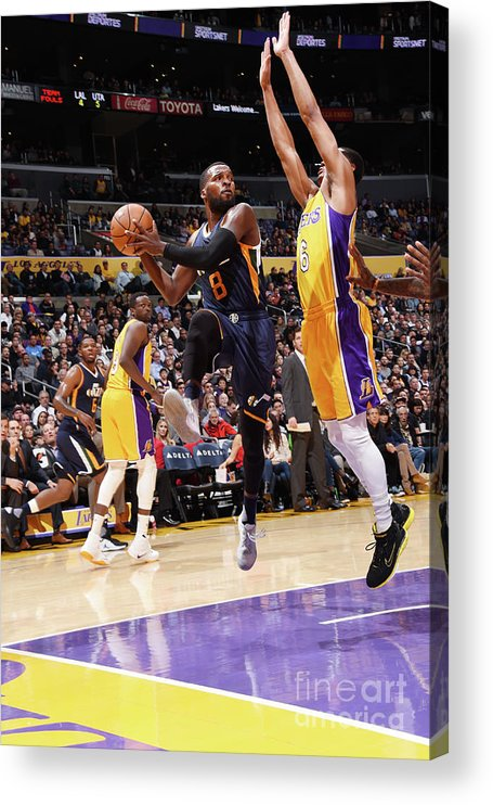 Nba Pro Basketball Acrylic Print featuring the photograph Shelvin Mack by Andrew D. Bernstein