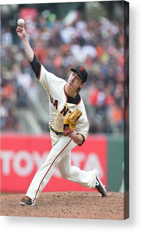 San Francisco Acrylic Print featuring the photograph Tim Lincecum by Jason O. Watson