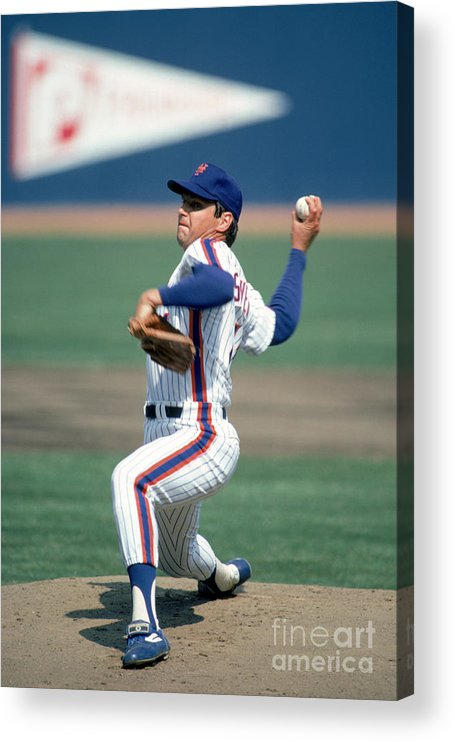 Tom Seaver Acrylic Print featuring the photograph Tom York by Rich Pilling