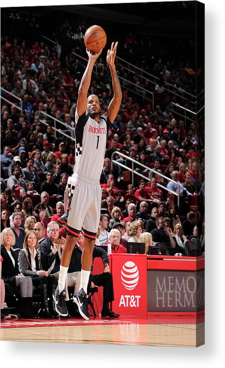 Nba Pro Basketball Acrylic Print featuring the photograph Trevor Ariza by Bill Baptist