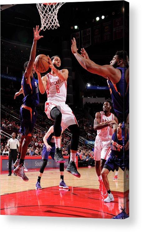 Nba Pro Basketball Acrylic Print featuring the photograph Tyler Ennis by Bill Baptist