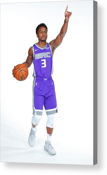 Media Day Acrylic Print featuring the photograph Yogi Ferrell by Rocky Widner
