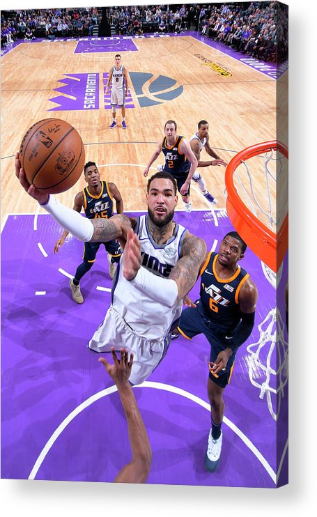 Nba Pro Basketball Acrylic Print featuring the photograph Willie Cauley-stein by Rocky Widner