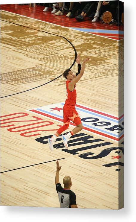 Nba Pro Basketball Acrylic Print featuring the photograph 2020 NBA All-Star Game by Gary Dineen