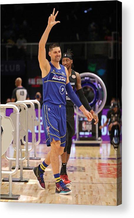 Atlanta Acrylic Print featuring the photograph 2021 NBA All-Star - Taco Bell Skills Challenge by Joe Murphy