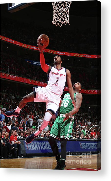 Playoffs Acrylic Print featuring the photograph John Wall by Ned Dishman
