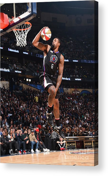 Event Acrylic Print featuring the photograph Deandre Jordan by Andrew D. Bernstein