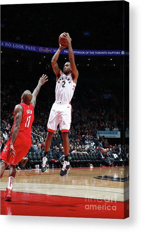 Nba Pro Basketball Acrylic Print featuring the photograph Kawhi Leonard by Mark Blinch