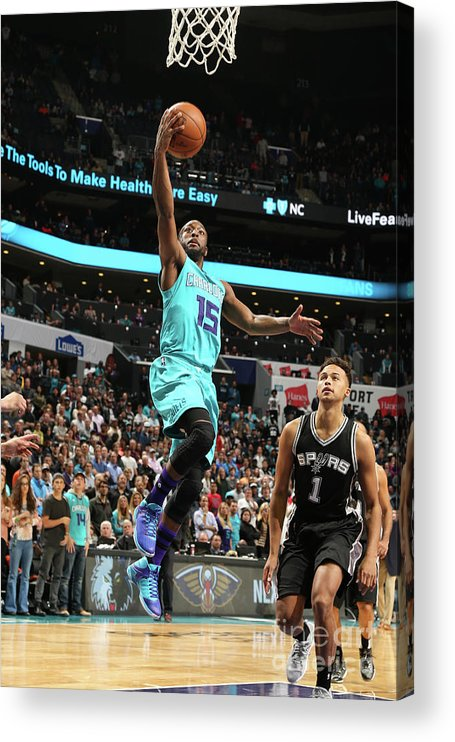 Kemba Walker Acrylic Print featuring the photograph Kemba Walker by Kent Smith