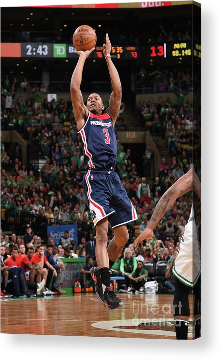 Playoffs Acrylic Print featuring the photograph Bradley Beal by Brian Babineau