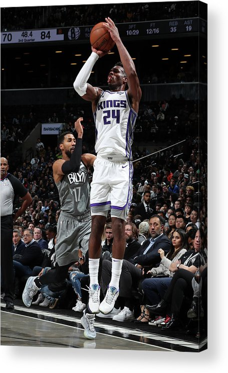 Nba Pro Basketball Acrylic Print featuring the photograph Buddy Hield by Nathaniel S. Butler