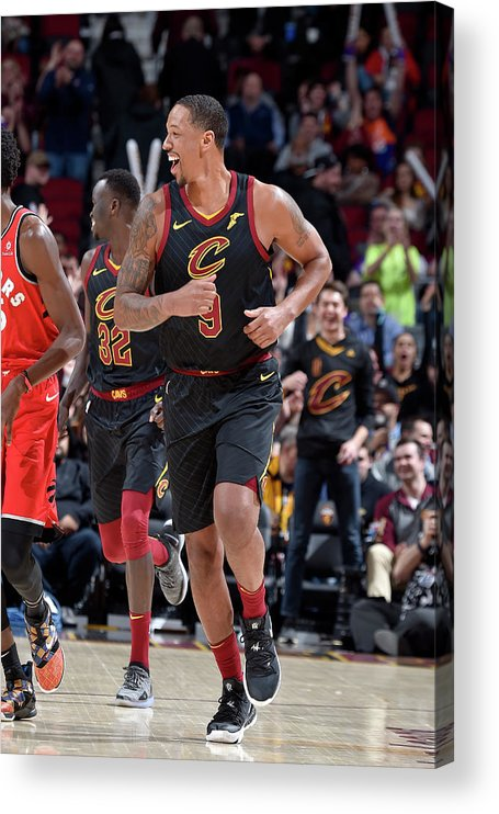 Nba Pro Basketball Acrylic Print featuring the photograph Channing Frye by David Liam Kyle