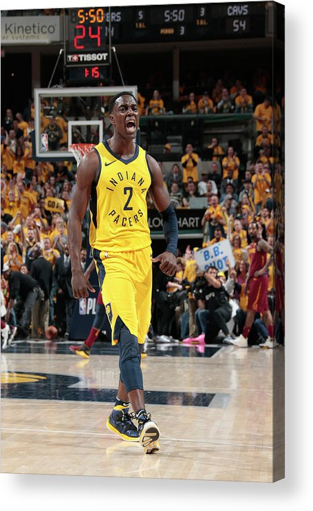 Playoffs Acrylic Print featuring the photograph Darren Collison by Ron Hoskins