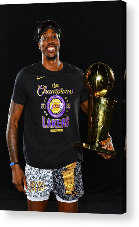 Playoffs Acrylic Print featuring the photograph Dwight Howard by Jesse D. Garrabrant