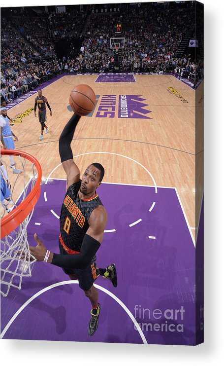 Nba Pro Basketball Acrylic Print featuring the photograph Dwight Howard by Rocky Widner
