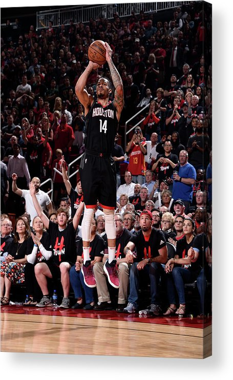 Playoffs Acrylic Print featuring the photograph Gerald Green by Bill Baptist