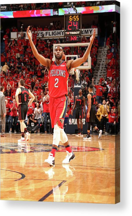 Smoothie King Center Acrylic Print featuring the photograph Ian Clark by Layne Murdoch