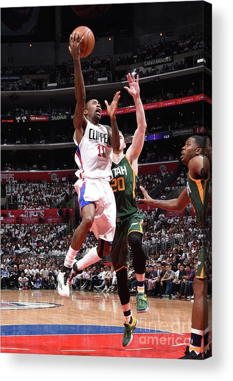 Playoffs Acrylic Print featuring the photograph Jamal Crawford by Andrew D. Bernstein