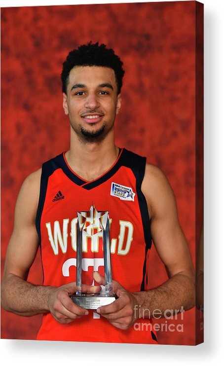 Smoothie King Center Acrylic Print featuring the photograph Jamal Murray by Jesse D. Garrabrant