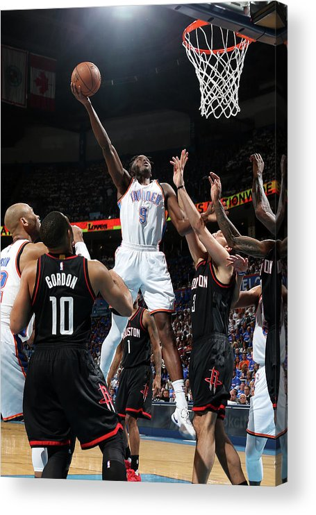 Playoffs Acrylic Print featuring the photograph Jerami Grant by Layne Murdoch