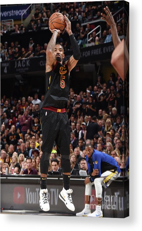Playoffs Acrylic Print featuring the photograph J.r. Smith by Andrew D. Bernstein