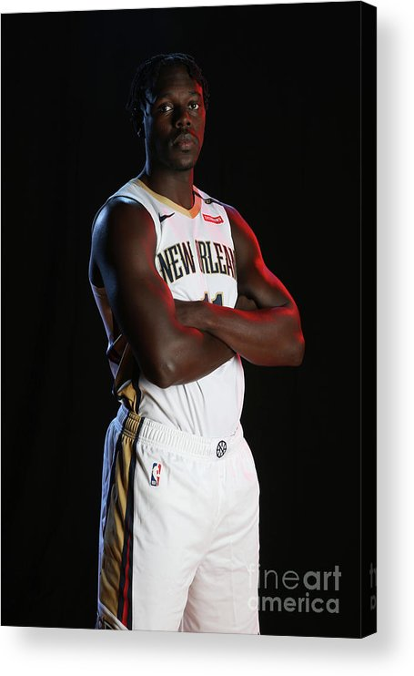 Media Day Acrylic Print featuring the photograph Jrue Holiday by Layne Murdoch Jr.